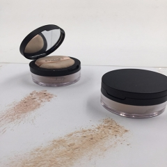 New Arrival Oil-control loose powder for face makeup with powder puff(2 Color for option)